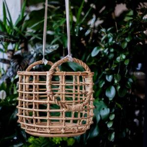 Małgorzata Partyka Kwiaty ze Smakiem kosz bambusowy