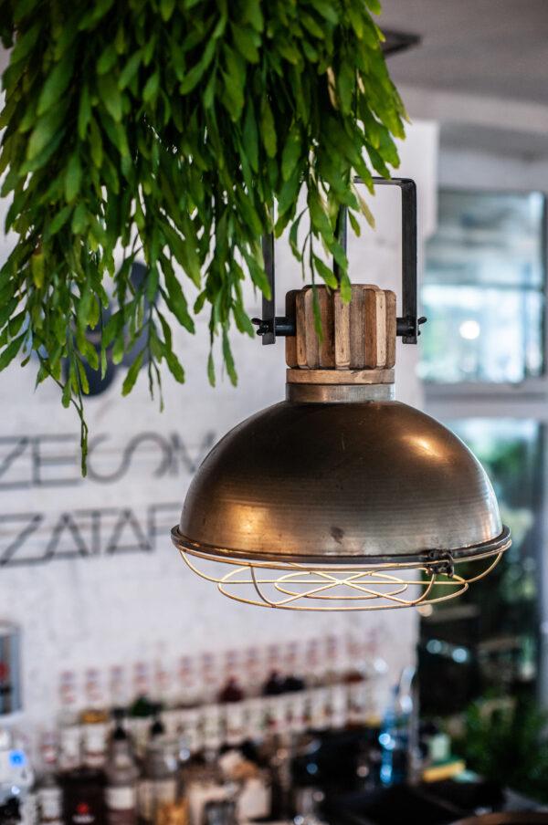 Małgorzata Partyka Kwiaty ze Smakiem lampa loftowa