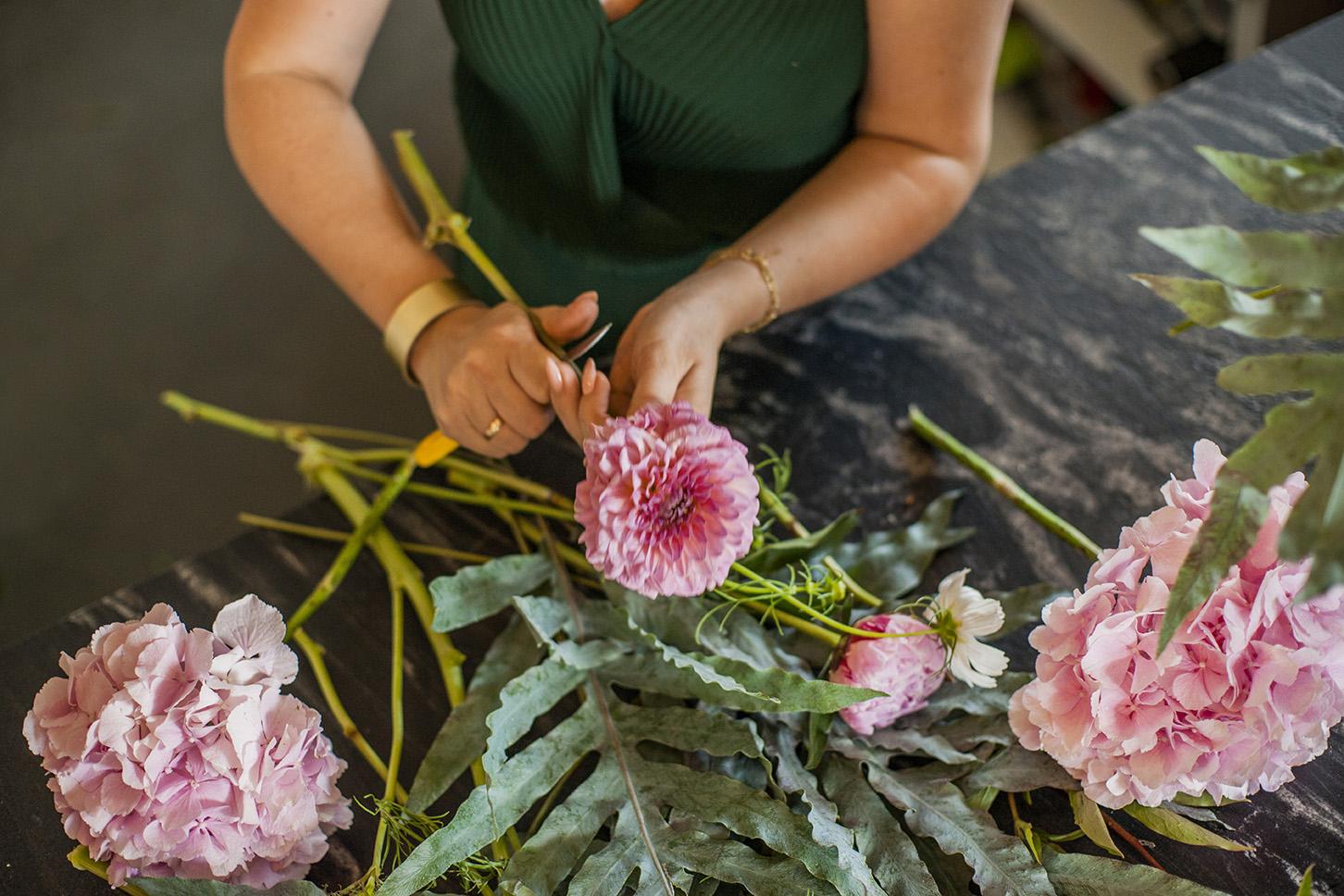 Małgorzata Partyka Kwiaty zesmakiem - bukiet kwiaty cięte