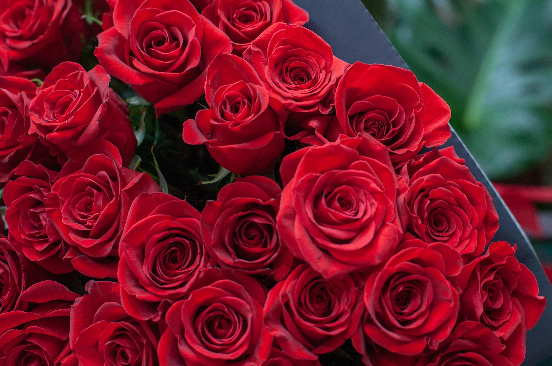 Małgorzata Partyka Kwiaty ze smakiem bukiet róż